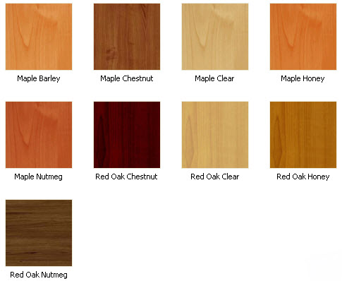 Cabinet refacing color options images frompo for Kitchen cabinet wood colors