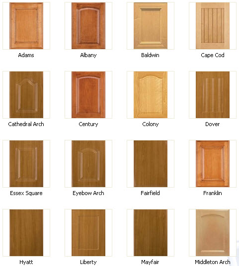 Kitchen Cabinet Door Styles Options: Custom Wood Cabinets & Refacing