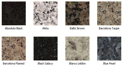 Countertop Color Options : Granite Countertop Colors Granite color options